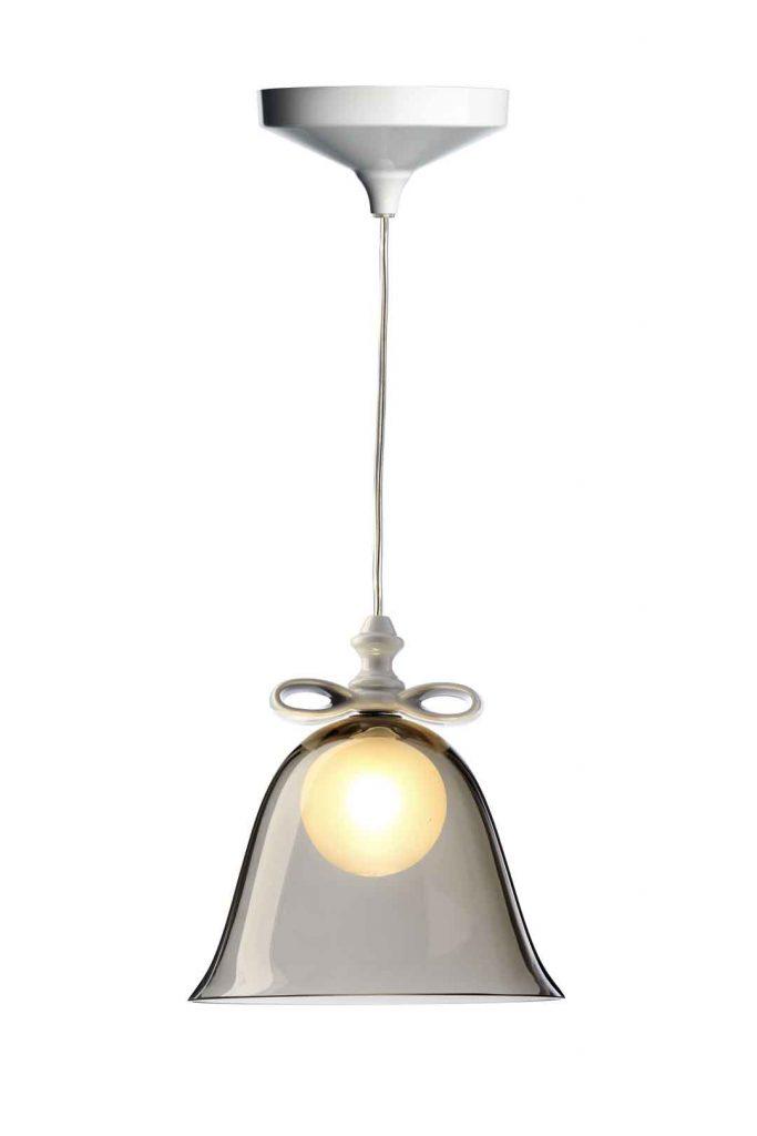 Bell Lamp Hängeleuchte mit Glasglocke von Moooi