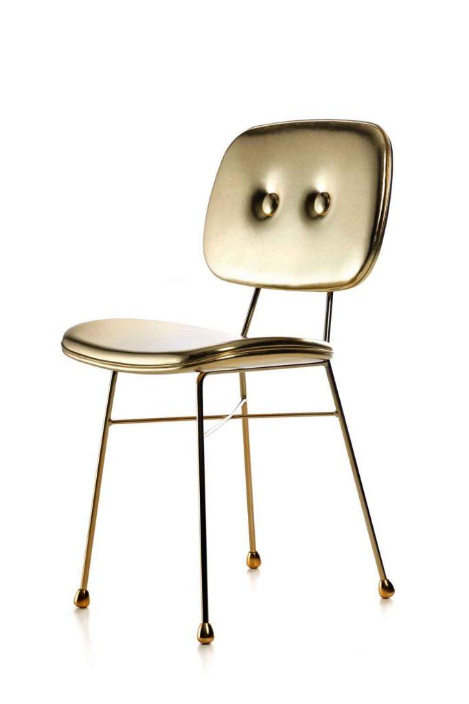 Goldener Stuhl von Moooi