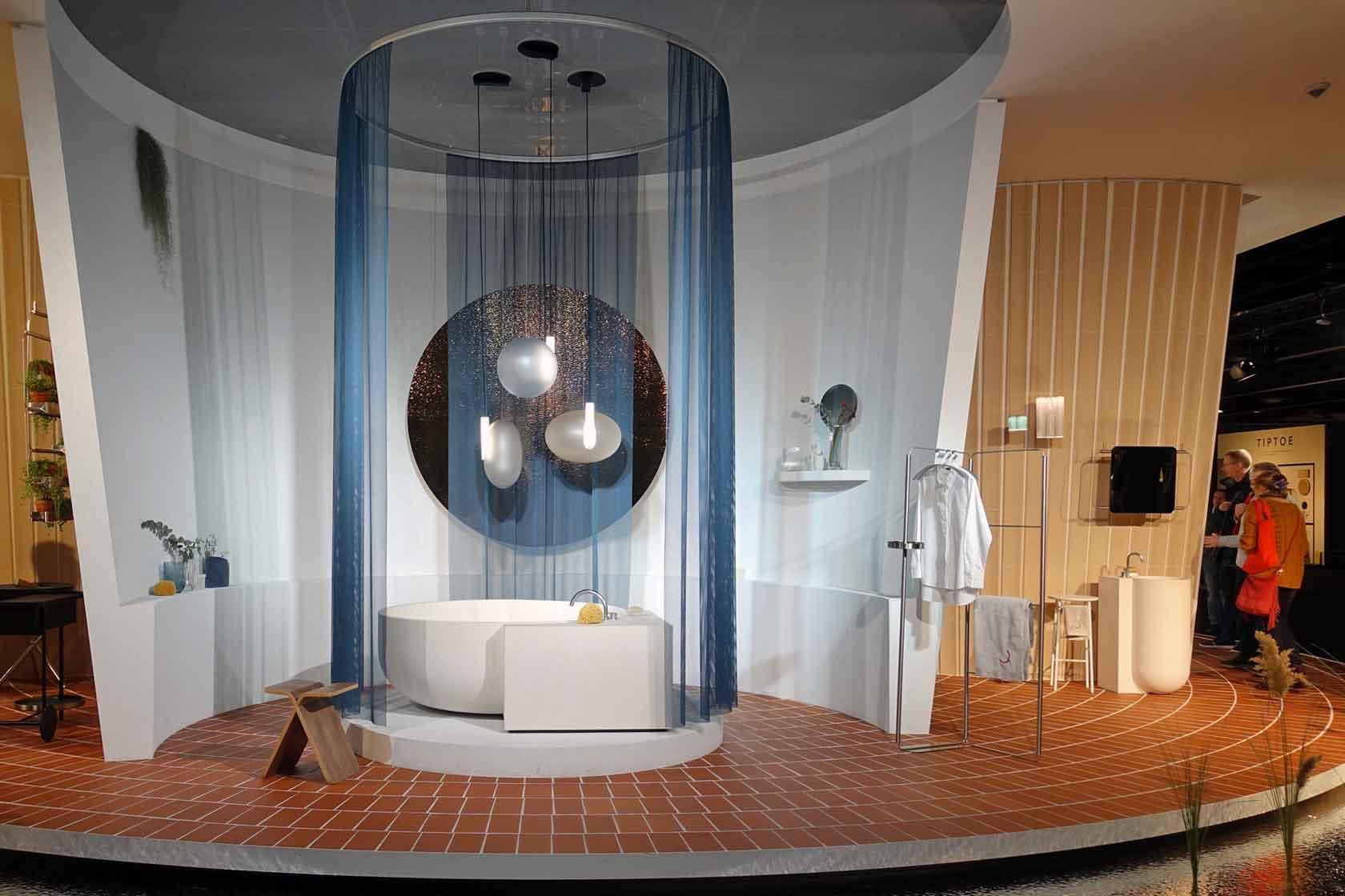 Die Vision des zukünftigen Wohnens in Form eines Hauses auf der IMM Cologne 2020